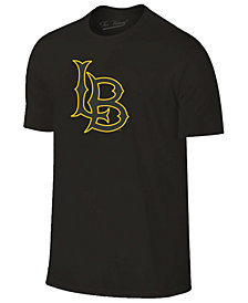 Champion Men's Long Beach State 49ers Black Out Dual Blend T-Shirt