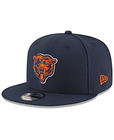Chicago Bears Basic 9FIFTY Snapback Cap