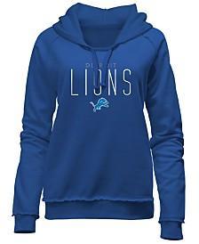 5th & Ocean Women's Detroit Lions Fleece Pullover Hoodie