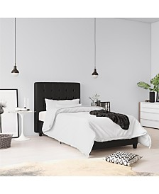 EveryRoom Elvia Twin Upholstered Bed