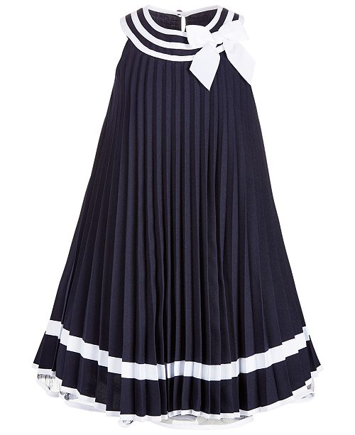 2330f6aa957 Bonnie Jean Toddler Girls Striped Pleated Dress   Reviews - Dresses ...