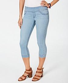 Petite Ella Pull-On Capri Jeans, Created for Macy's