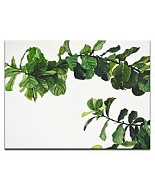 "'Vine' Botanical Canvas Wall Art, 20x30"""
