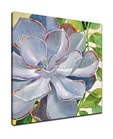 'Botanical Bliss III' Floral Canvas Wall Art, 30x30""