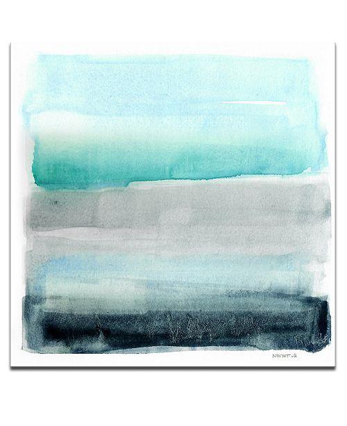 "Ready2HangArt 'Parallel Energy II' Abstract Canvas Wall Art, 20x20"""