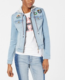 Tommy Hilfiger Denim Hoodie Jacket, Created for Macy's