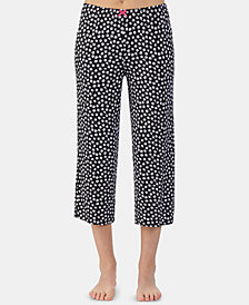 Ellen Tracy Printed Capri Pajama Pants