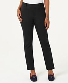 Charter Club Petite Ponté-Knit Skinny Pants, Created for Macy's