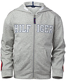 Tommy Hilfiger Big Girls Zip-Up Logo Hoodie