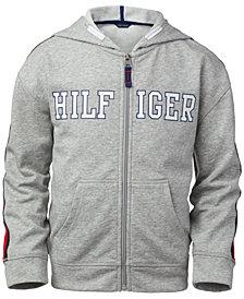 Tommy Hilfiger Big Girls Zip-Up Logo Hoodie