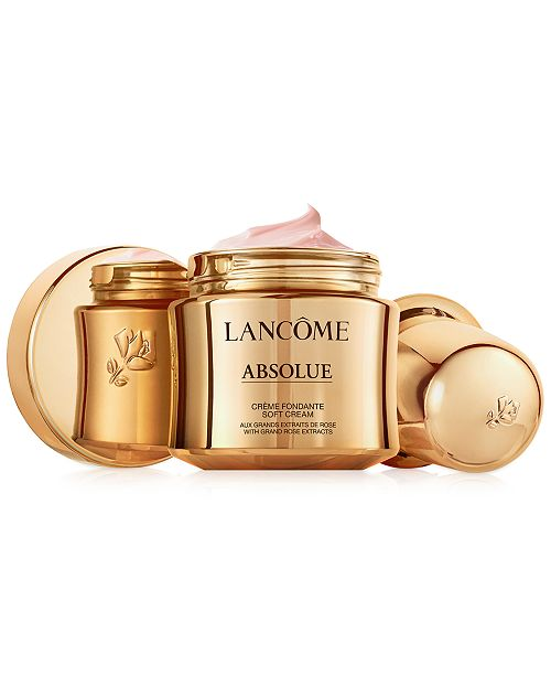 Lancome Absolue Revitalizing & Brightening Soft Cream With Grand Rose Extracts, 1 oz.
