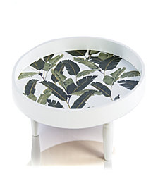 Shiraleah Round Leaves Tray
