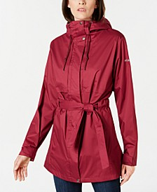 Pardon My Trench Water-Resistant Rain Jacket
