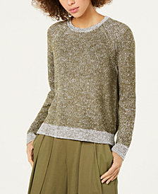 Eileen Fisher Organic Linen Cotton Crewneck Sweater