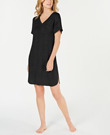 Alfani Ultra Soft Ribbed Knit Sleepshirt, Created for Macy's