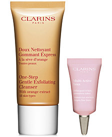 Receive a FREE 2pc Skin Care Gift with $75 Clarins Purchase!