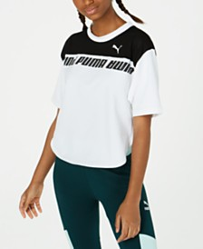 Puma dryCELL Colorblocked Cropped T-Shirt
