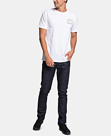 Quiksilver Men's Between the Lines Graphic T-Shirt