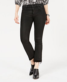 DL 1961 Lara Cropped Raw-Hem Jeans