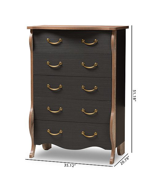 Furniture Romilly Two Toned Chest