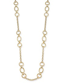 "Alfani Large Link Station Necklace, 40"" + 2"" extender, Created for Macy's"