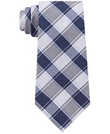 Michael Kors Men's Track Plaid Tie