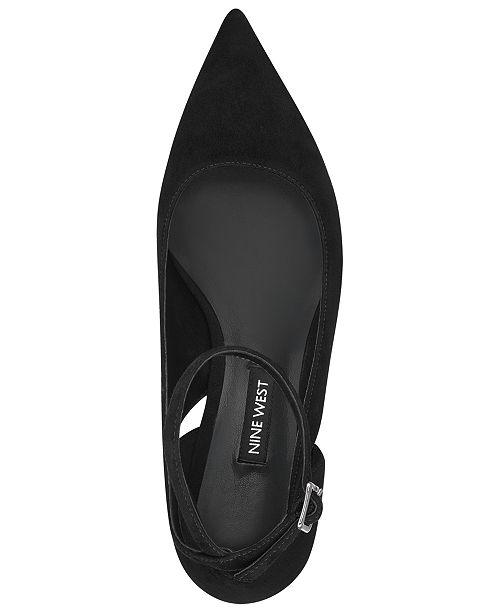 8d4ab994e20 Nine West Quataz Block-Heel Pumps   Reviews - Pumps - Shoes - Macy s