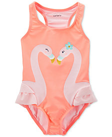 Carter's Toddler Girls 1-Pc. Flamingos Swimsuit