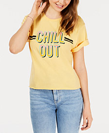 Pretty Rebellious Juniors' Chill Out T-Shirt
