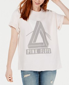 True Vintage Cotton Pink Floyd Graphic T-Shirt