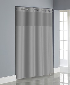 Hookless Dobby Texture 3-in-1 Shower Curtain