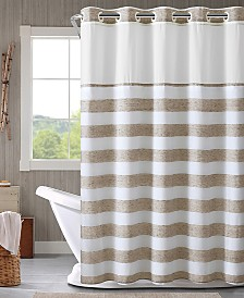 Hookless Yarndye Stripe 3-in-1 Shower Curtain