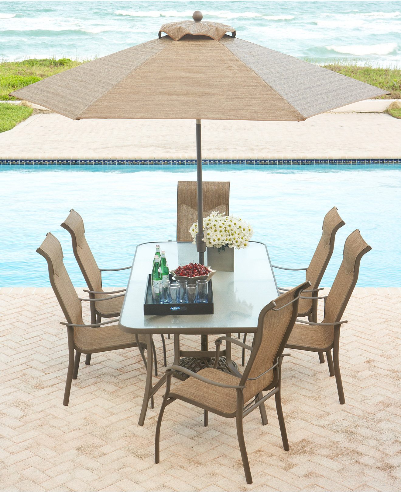 - Oasis Outdoor Dining Collection - Furniture - Macy's