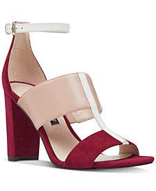 Nine West Nohea Colorblocked City Sandals