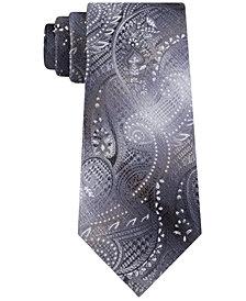 Van Heusen Men's Hussein Classic Plaid Paisley Tie