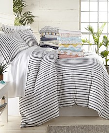 Lucid Dreams Patterned Duvet Cover Set by The Home Collection