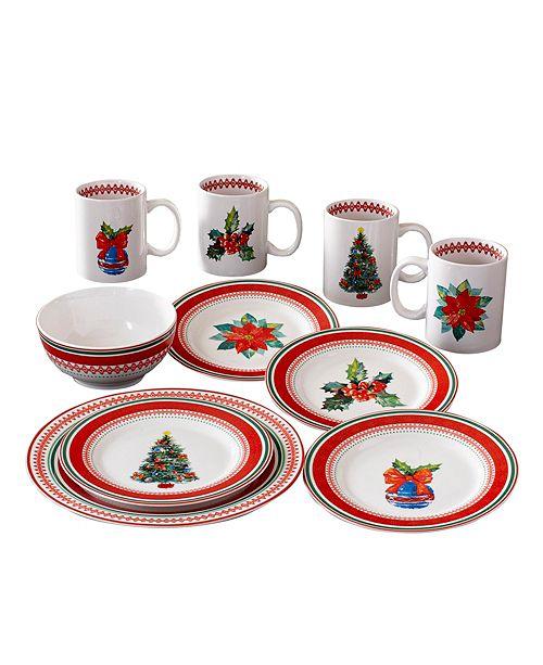 American Atelier CLOSEOUT! Noelle 16 Piece Dinnerware Set