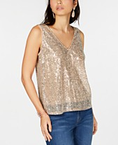 a2e73b52fad Sequin Tops  Shop Sequin Tops - Macy s