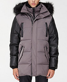 NOIZE Men's Logan Long Parka