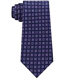 Michael Kors Men's Halo Square Neat Silk Tie