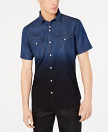 I.N.C. Men's Franklin Shirt, Created for Macy's