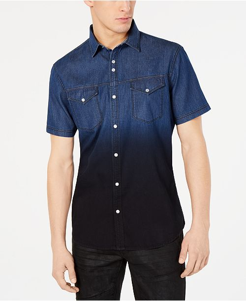 INC International Concepts I.N.C. Men's Franklin Shirt, Created for Macy's