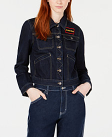Dickies Cotton Convoy Logo Jean Jacket