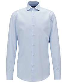 BOSS Men's Slim Fit Twill Cotton Shirt