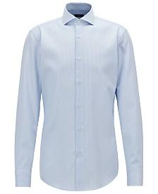 BOSS Men's Slim Fit Twill Cotton Shirt