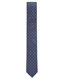 BOSS Men's Jacquard Patterned Silk Tie