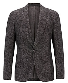 BOSS Men's Slim Fit Velvet Jacket