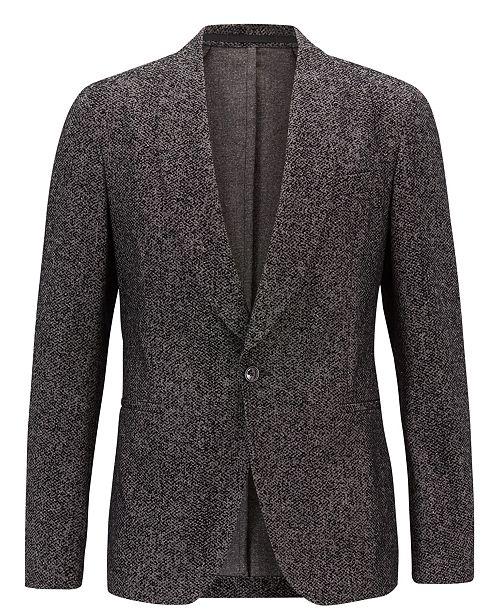 Hugo Boss BOSS Men's Slim Fit Velvet Jacket