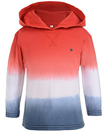 Tommy Hilfiger Baby Boys Ombré Hooded Cotton Top