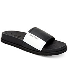 Calvin Men's Mackee Slide Sandals
